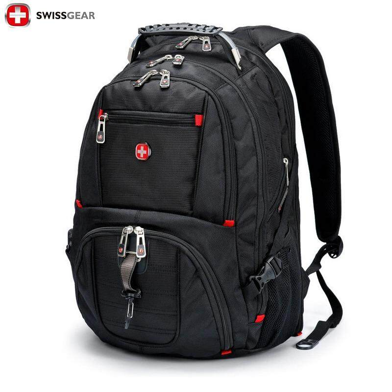 2578b38001 SWISSGEAR Backpack SA8112 Model 17 inch Waterproof Large Capacity Leisure  Travel Outdoor Sport Business Laptop Backpacks