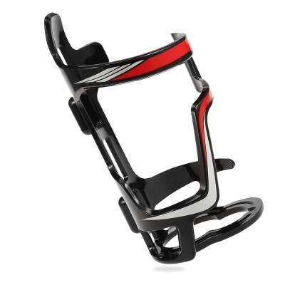 Drink Water Cup Holder Bottle Cage for Outdoor Cycling Road Mountain Bike (RED)