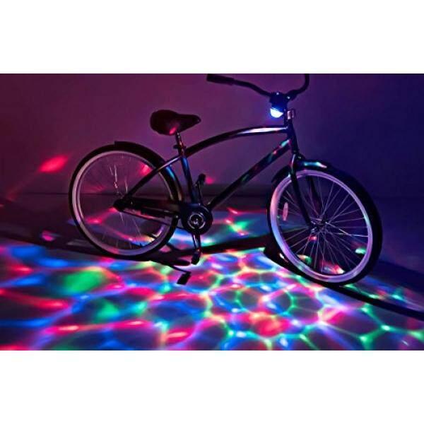 Almm Brightz, Ltd. boom Brightz Merah Hijau Biru, Warna Changing Isi Ulang LED Sepeda Aksesori dengan Bluetooth Pembicara-Internasional