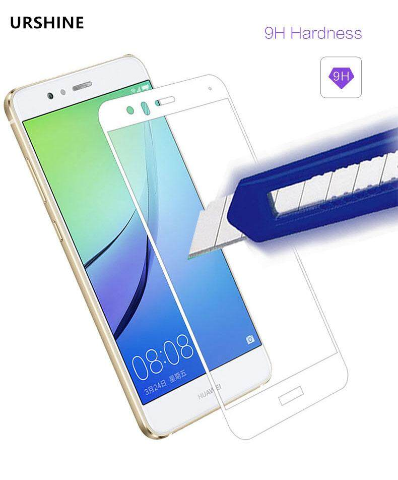 (White) 3D Protective Film for Huawei Nova 2 Plus Tempered Glass Screen Protector Full