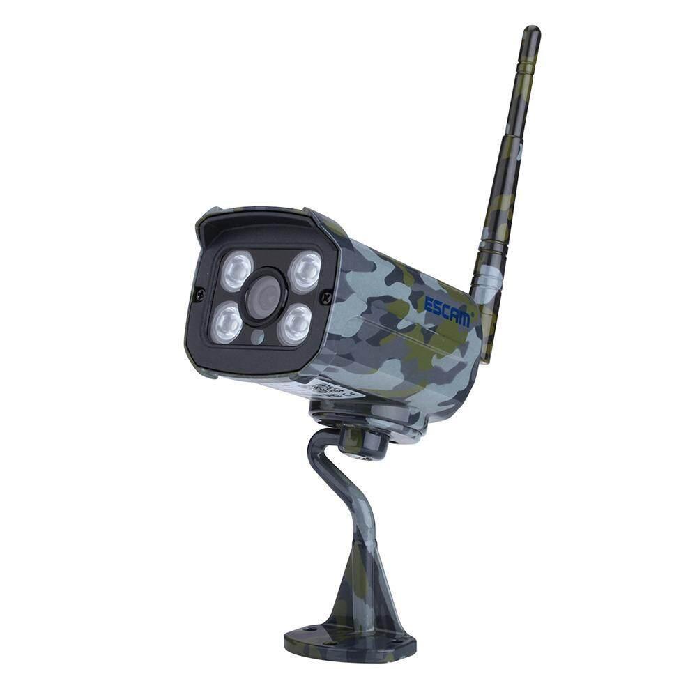 Yugos Kamera Keamanan Rumah Sistem QD900S Full HD 1080 P H.264 2.0MP Wifi IR Bullet Kamuflase Ip Kamera untuk Android Ponsel IOS-Intl