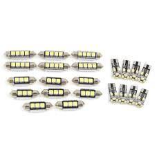 22 Pcs Putih Kubah Mobil Pembaca Peta LED Lampu Interior untuk BMW X5 E53 2001-