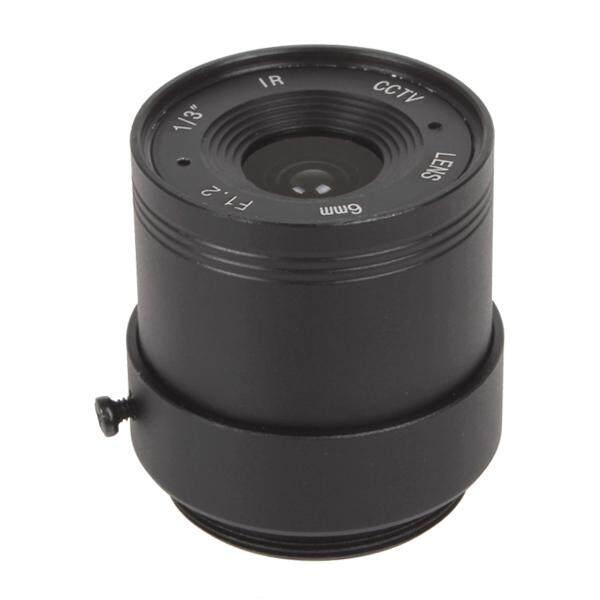 6 Mm/F1.6 CCTV Definisi Tinggi Paduan Lensa Tetap untuk CCTV Lensa Kamera CS 1/3 Inch IR-Intl