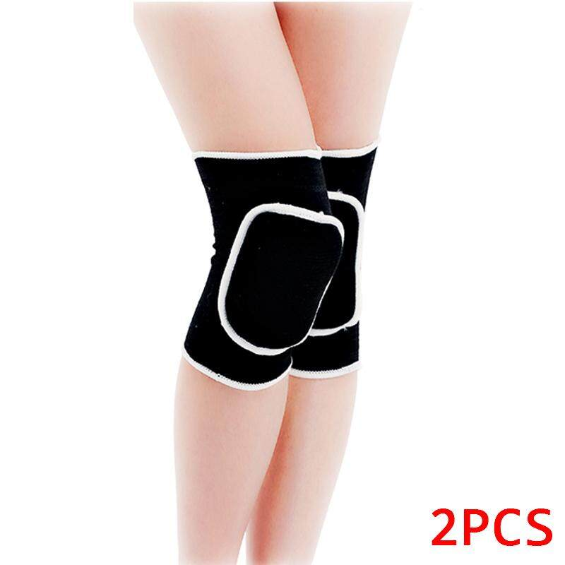 1 Pair Knee Support Stretch Brace Pad Wrap Band