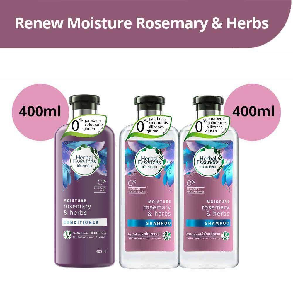 Herbal Essences Bio Renew Moisture Rosemary & Herbs Haircare Bundle