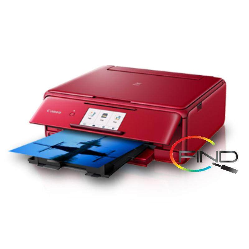 CANON PIXMA TS8170 AIO PRINTER (RED)