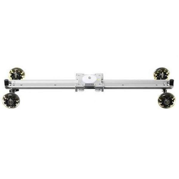 Sevenoak SK-DS60 24in Lebar Berat-Tugas Aluminium Slider dengan Roda Skater untuk Canon 5D MarkII/7D/60D /500D-550D, nikon D3100/D7000/A55, Sony A7S/Sebuah & R/A7S2 dan Kamera Perekam Panasonic, 22 Lbs Kapasitas-Internasional