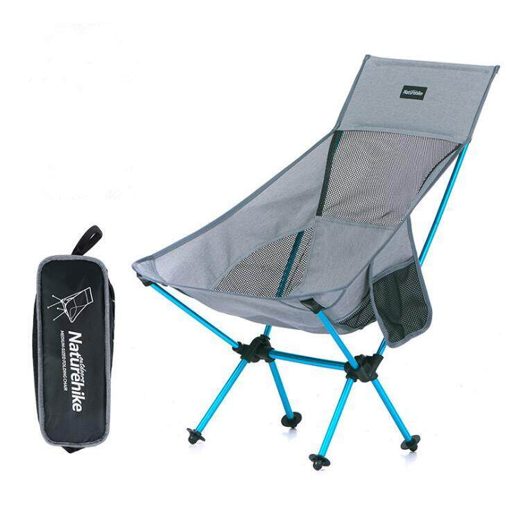 Naturehike Nh17y010 Z Aluminum Folding Chair Lightweight Stool Camping Small Seat Max Load 90kg