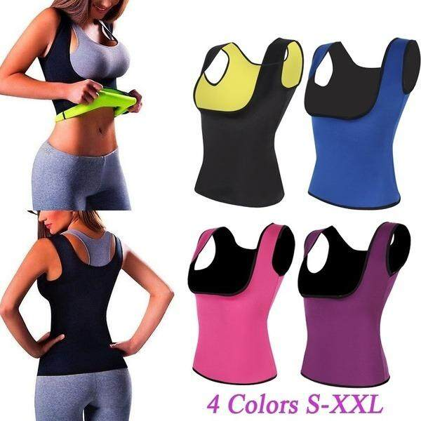 9886c75557 Women Sweat Hot Slimming Belt Body Shapers Sauna Gym Waist Belly Sport  Workouts Push Up Waist