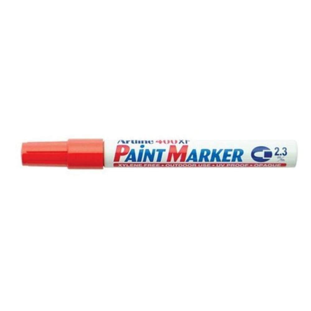 Artline 400XF Paint Marker Pen - 2.3mm Bullet Nib - Orange