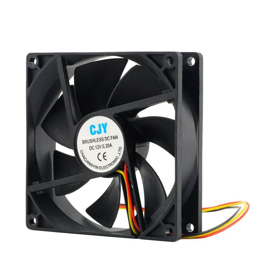 ERA 12V 3-Pin 9cm 90 x 25mm 90mm CPU Heat Sinks Cooler Fan DC Cooling Fan 65 CFM - intl