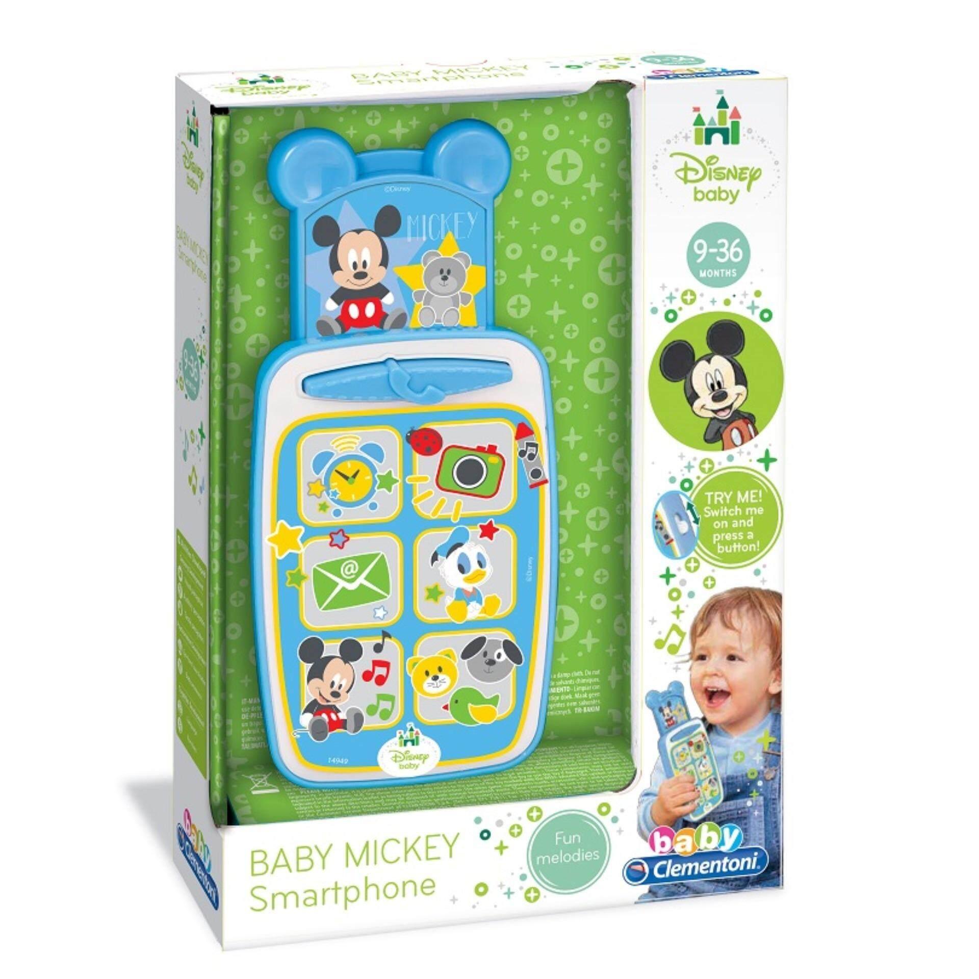 Disney Baby Developmental Musical Smartphone Toys - Mickey toys education
