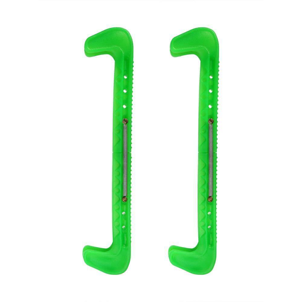 ebayst 1 cặp Nhựa Điều Chỉnh Băng Trượt Lưỡi Dao Vệ Binh Có (xanh lá)-quốc tế