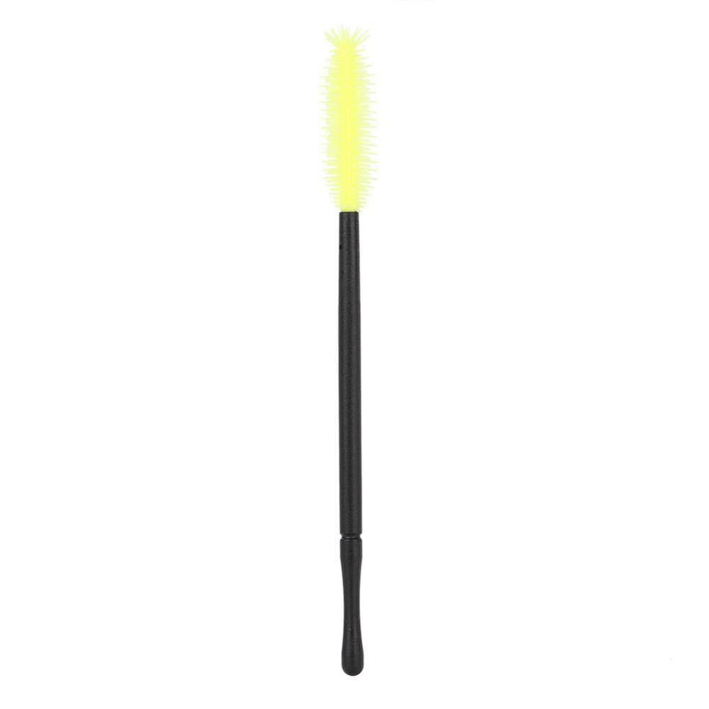 ... 50 Pcs Silikon Kuas Bulu Mata Sekali Pakai Bulu Mata Sisir Mascara Aplikator Kuning Nanas Tipe ...