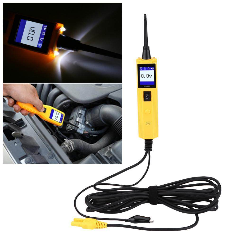 Features Aneng 12 Ac Voltage Detector 1000v Electrical Circuit About 90v To Live Tester Car System Diagnostic Tool Automotive Power Probe Test