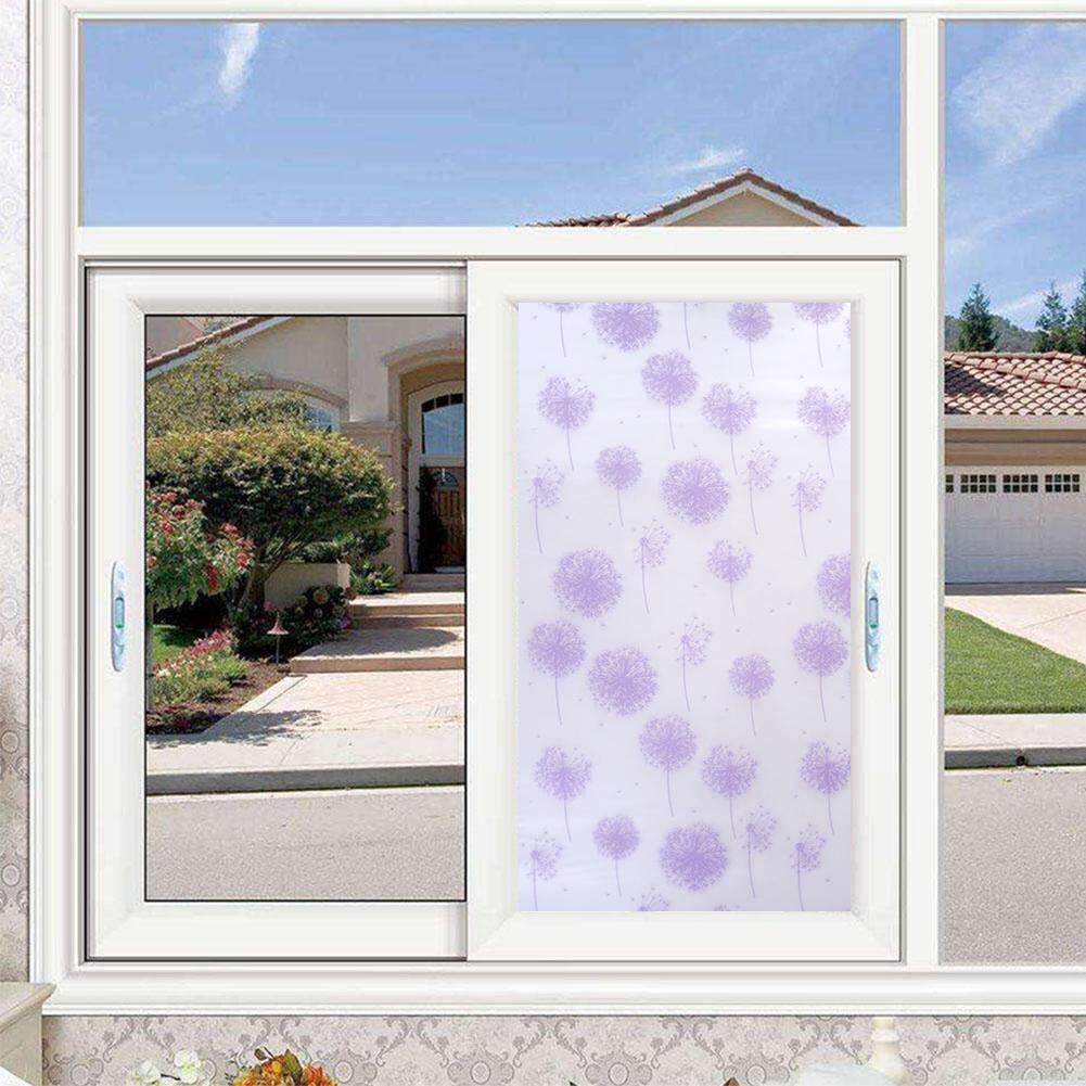 Opaque Jendela Stiker Perekat Diri Jendela Kaca Film untuk Dekorasi Rumah-Internasional .
