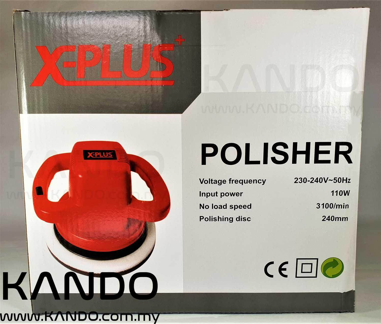 [MALAYSIA]X-PLUS 110W Random Orbital Polisher / Random Orbital Buffer / Car Polisher / Car Waxer / Car Buffer Car Polishing