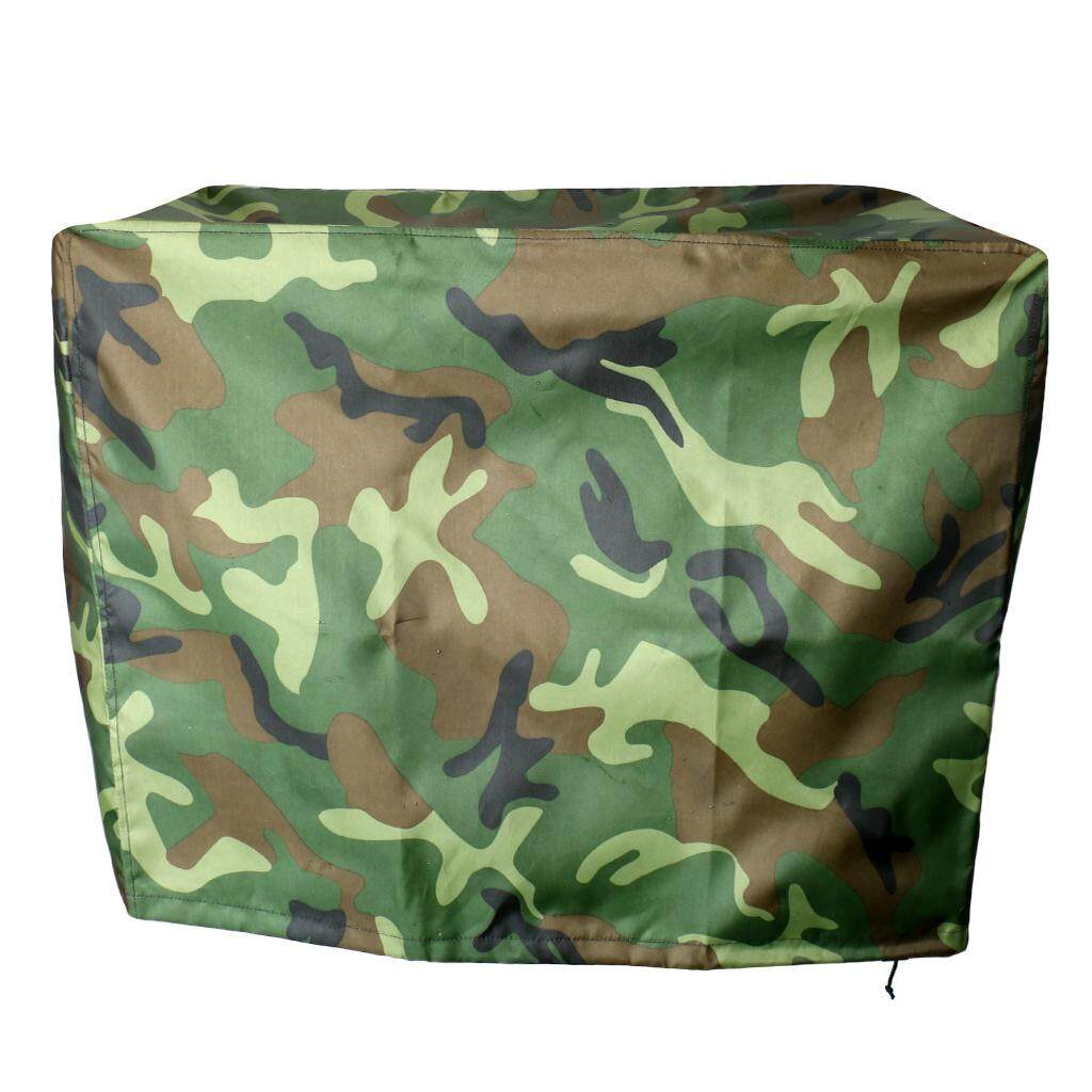 Miracle Shining Camo Waterproof Boat Outboard Motor Protector Cover for 2-15 HP Engines - intl