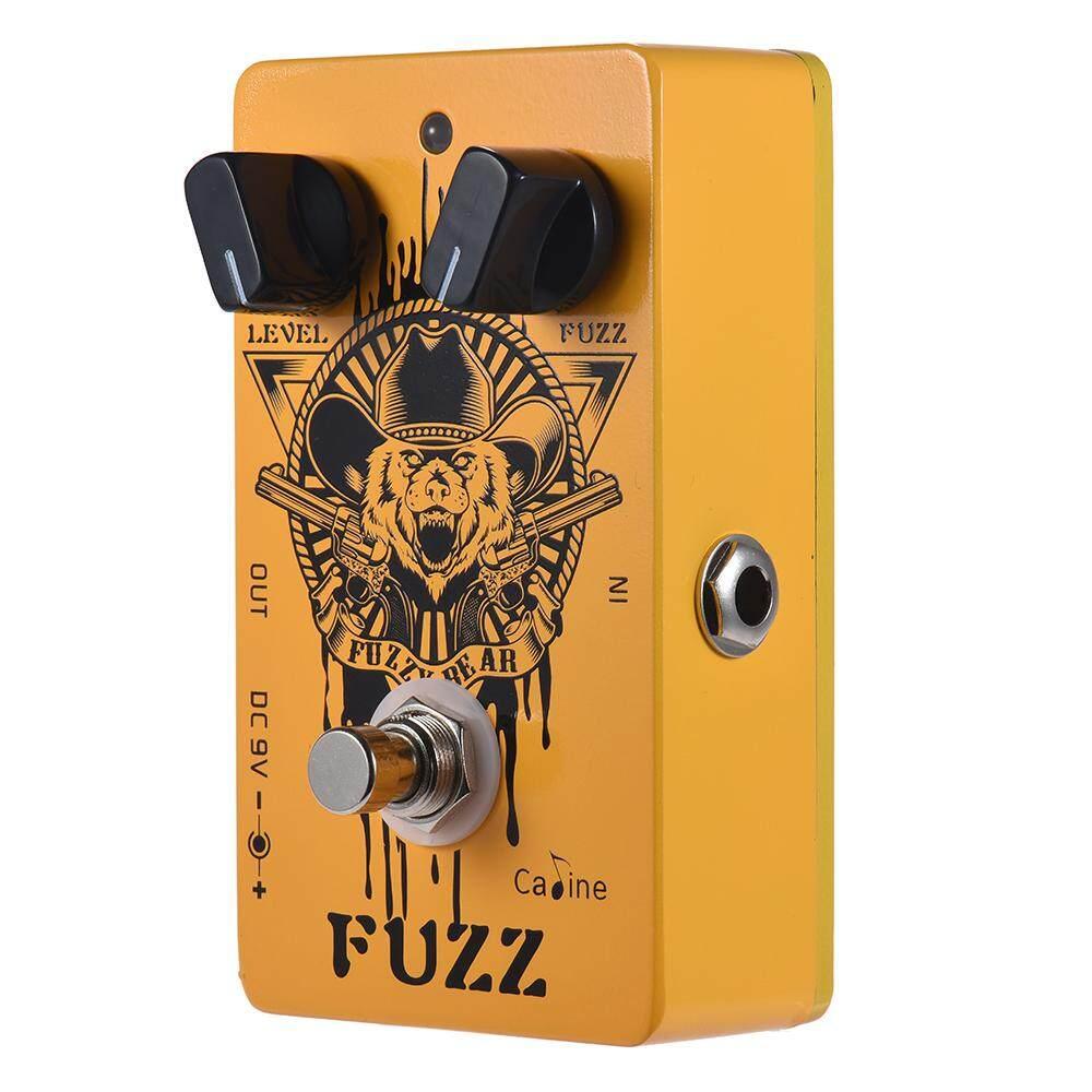 ... Caline CP-46 Fuzz Gitar Efek Pedal Aluminium Paduan dengan Bypass Sejati-Internasional ...