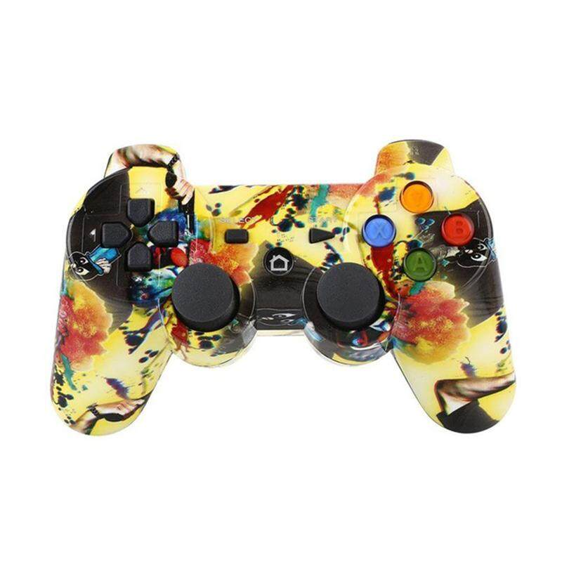 Colorful Wireless Bluetooth Gamepad Gaming Controller for PS3