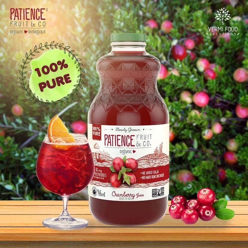 Patience Pure Organic Cranberry Juice 946ml