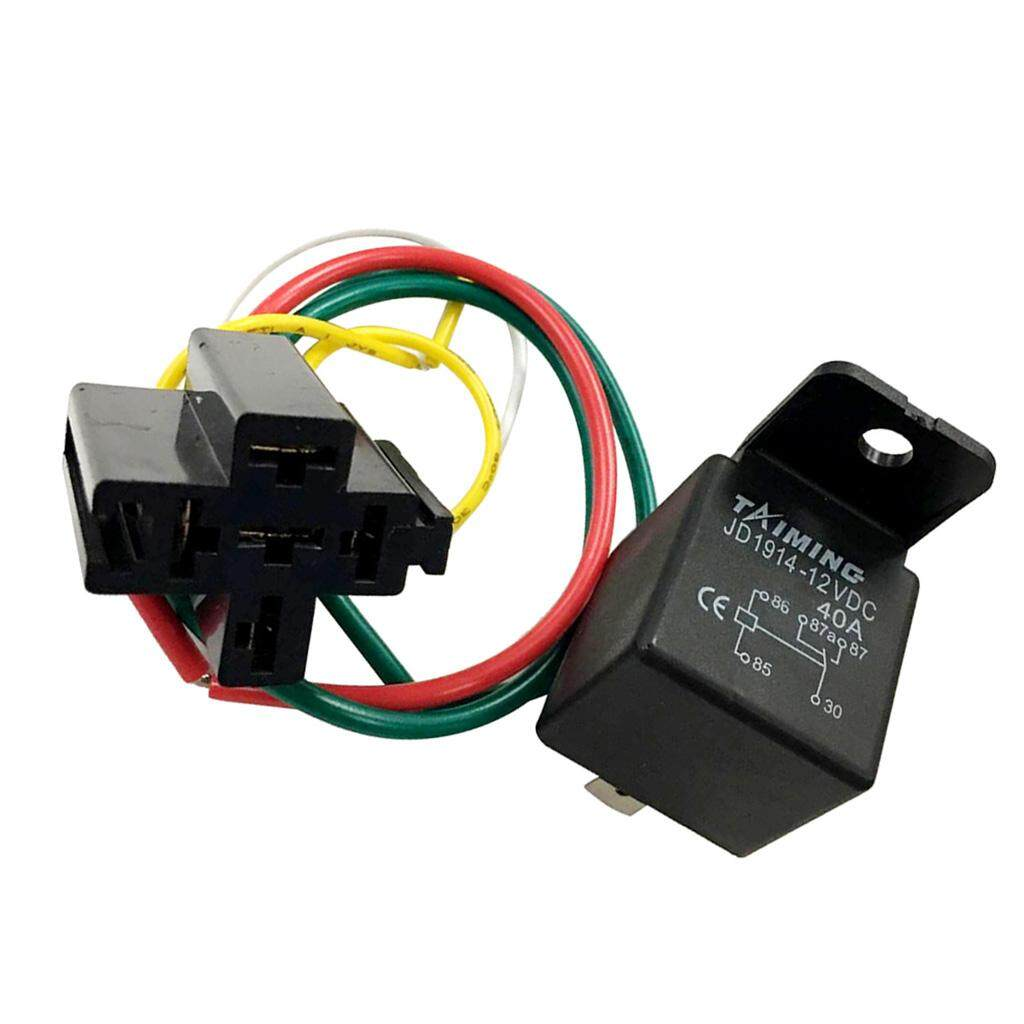 Car Relays For Sale Automotive Online Brands Prices Wiring A Changeover Relay Miracle Shining 40a Dc12v Spdt 5 Pin Wire Wires Harness
