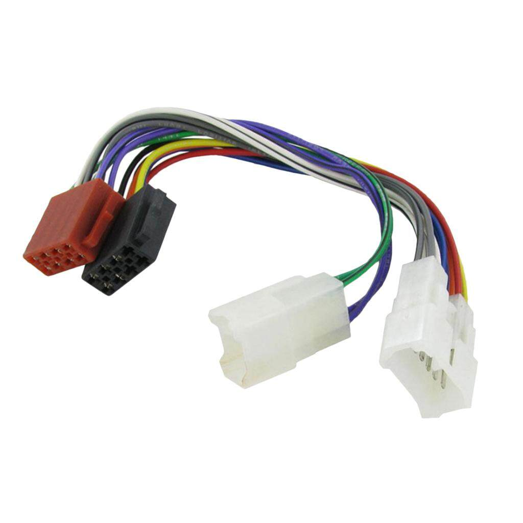 Features Miracle Shining Wiring Lead Harness Adapter For Toyota Iso Stereo Plug Adaptor 5