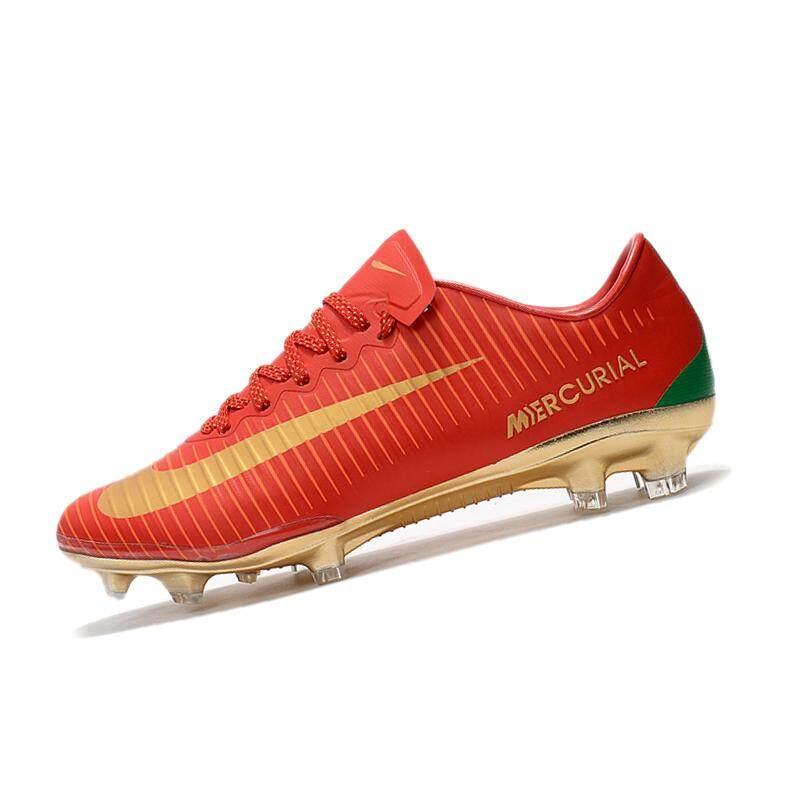 Pria Sepak Bola Sepatu Baru Arrival Sepatu Sepak Bola Pelatihan Sepatu Sepak Bola Cleat Luar Ruangan Renda-Hingga Vapor Xi FG Sepak Bola cleats Hitam 39-45-Internasional