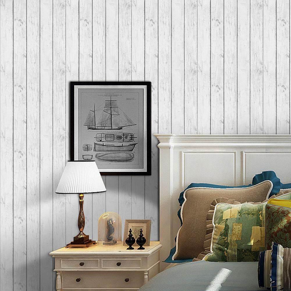 opkmc 3D Waterproof Self Adhesive Wallpaper PVC Wall Stickers For Living Room Bathroom - intl
