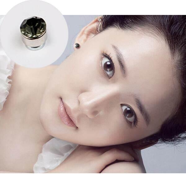 Lesa Magnet Anting-Anting Anting Putra Korea Modis Minimalis Tidak Pierced Berlian Telinga Klip Anting-Anting Anting-Anting Perhiasan Beberapa Pasang mahasiswa Pria Wanita Anting-Anting Putih Sepasang (Gray Pasang) -Internasional