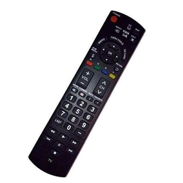 Diganti Pengendali Jarak Jauh Kompatibel untuk Panasonic TCL37U3 TC-L37E3 TCP46X3 TC-P46S30 TCL32X30 TCP5032C Plasma LED TV-Internasional