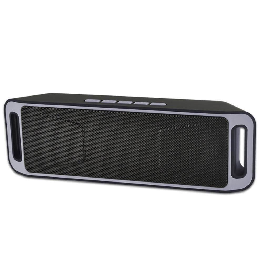 Muxindo Speaker Bluetooth Nirkabel Ringtone Portable Speaker Kotak Musik Mini USB-Intl