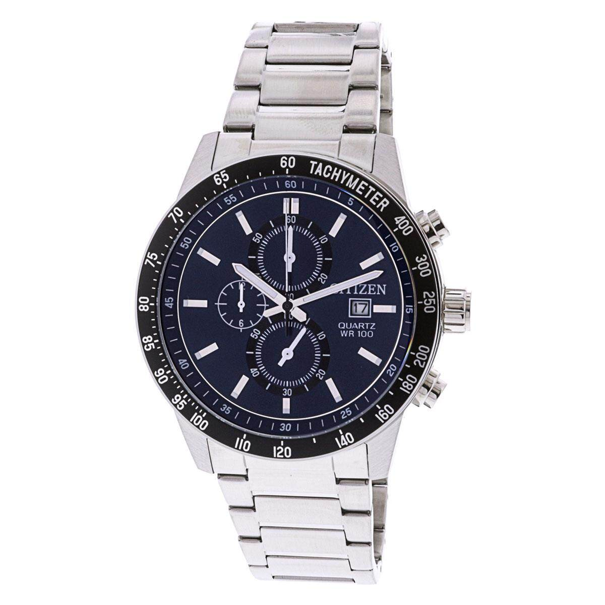Fitur Citizen Mens Stainless Steel Watch Aw1520 51l Dan Harga Nh8388 81e Chronograph Silver Case Bracelet An3600 59l