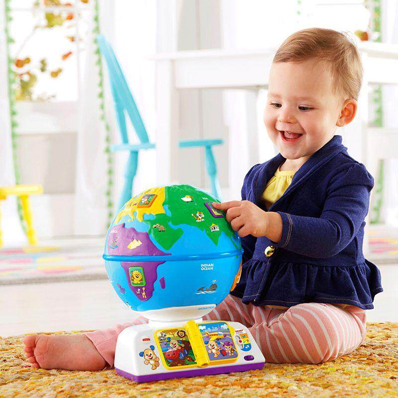 [Fisher-Price] Laugh & Learn Greetings Globe toys for girls