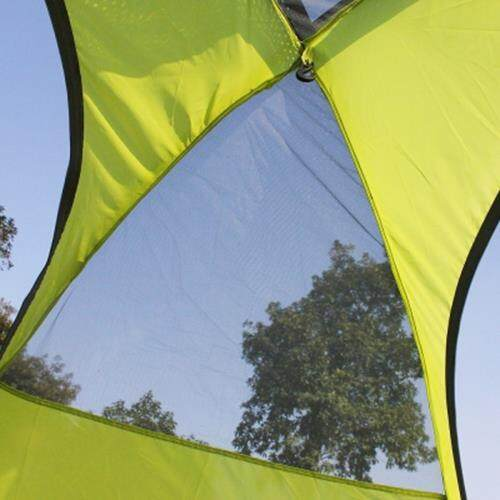 FLYTOP WATERPROOF DOUBLE LAYER CAMPING TENT TWO PERSON USE (CELADON)