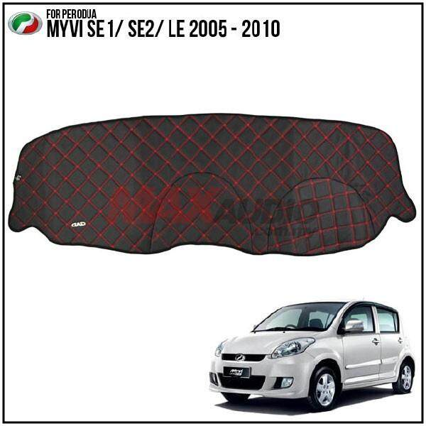 PERODUA MYVI SE1/ SE2/ LE 2005 - 2010 DAD GARSON VIP Custom Made Non Slip Dashboard Cover Mat
