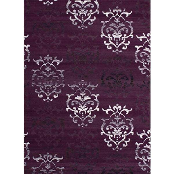 United Weavers dari Amerika Dallas Countess Permadani, 5X8, Lilac-Internasional