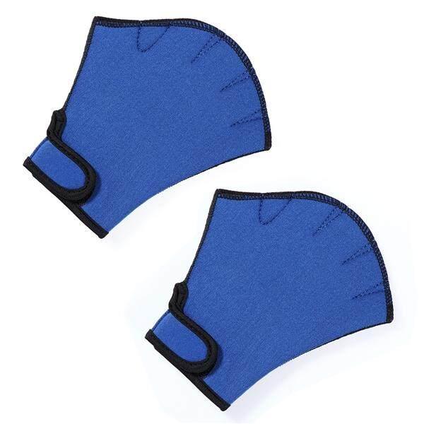 1 คู่ว่ายน้ำถุงมือ Webbed น้ำพอดี Training ถุงมือ Paddles ดำน้ำมือเว็บ.