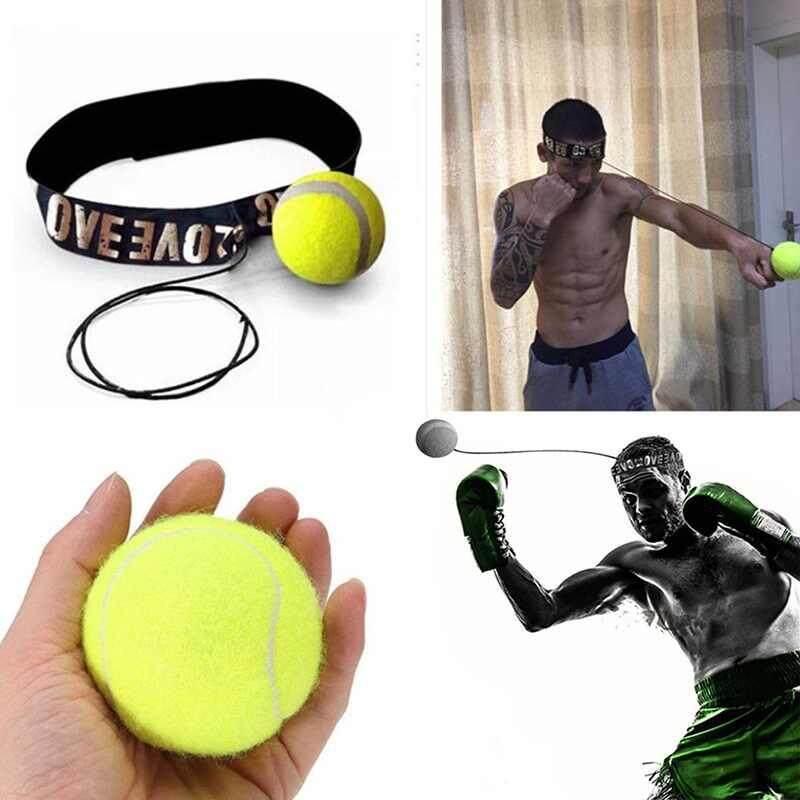 วัตสันชกมวยการออกกำลังกายบอลต่อสู้กับวงดนตรีสำหรับสะท้อนความเร็วการฝึกอบรมการชกมวย - นานาชาติ By Watson.