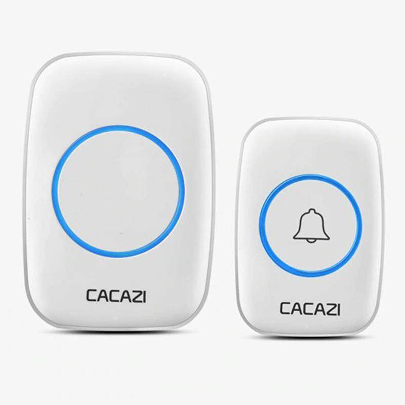 CACAZI 3 Pin Wireless Waterproof Doorbell