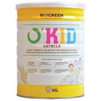 Biogreen O Kid Oatmilk 850G