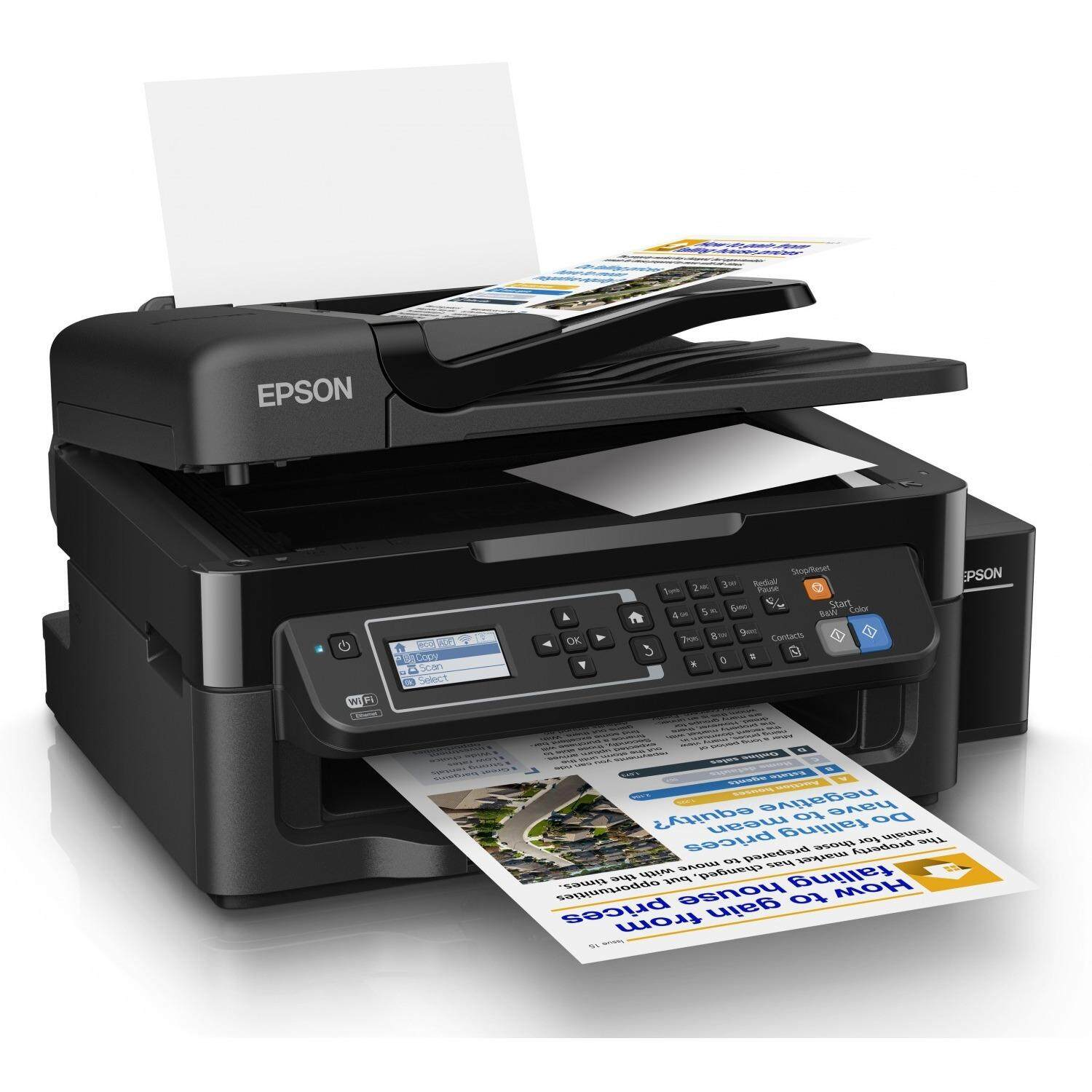 Epson L565 Wi-Fi All-in-One Ink Tank Printer (READY STOCK)