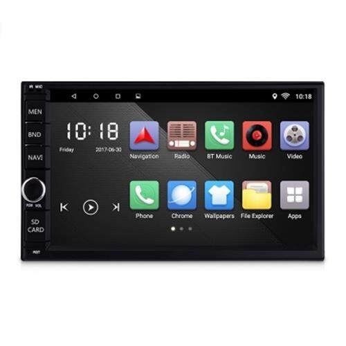 CT0012 UNIVERSAL 7-INCH CAR MULTIMEDIA PLAYER GPS MIRROR LINK (BLACK)