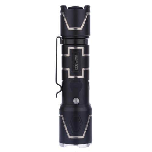 WUBEN I332 520LM CREE XPL-V5 LED FLASHLIGHT WATERPROOF WEAR RESISTANT LAMP (BLACK)