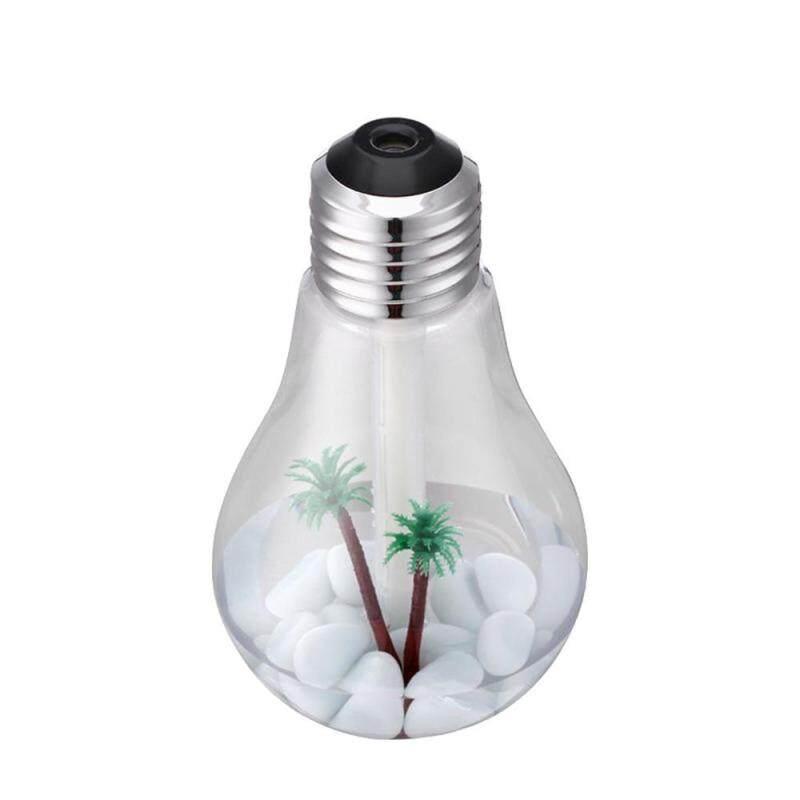 HONGHUI Colorful USB Mini Aroma Diffuser LED Night Light Creative Bottle Bulb Humidifier Singapore