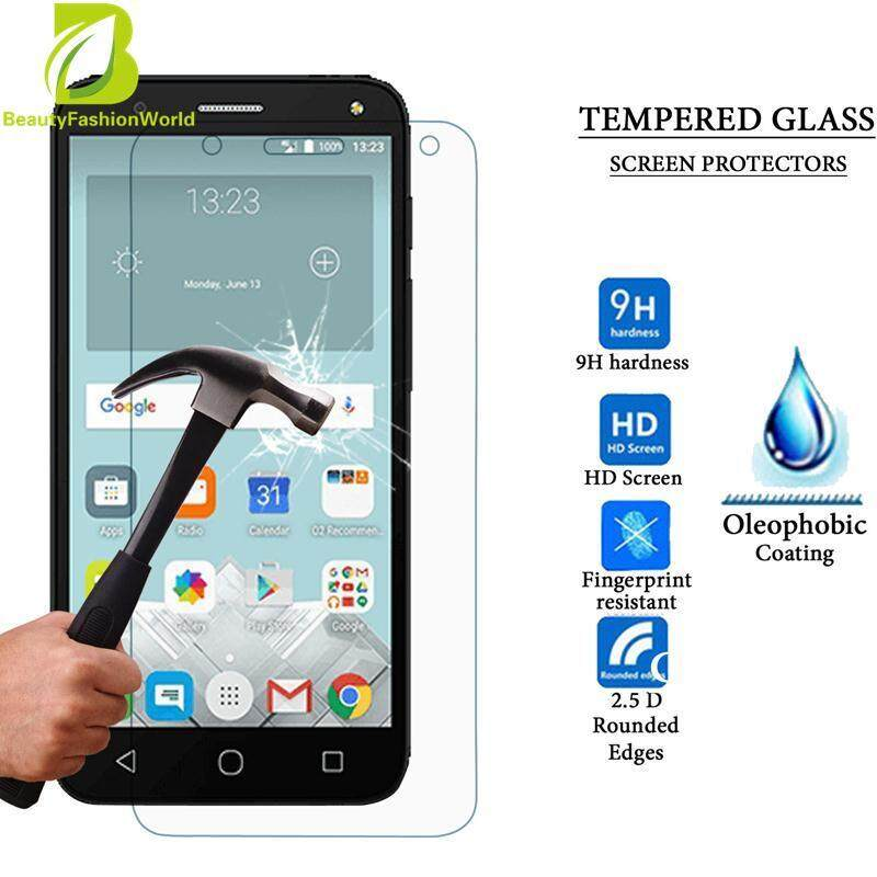 Tempered Glass Touch Screen Protective Clear Film For Alcatel Pixi4 5''