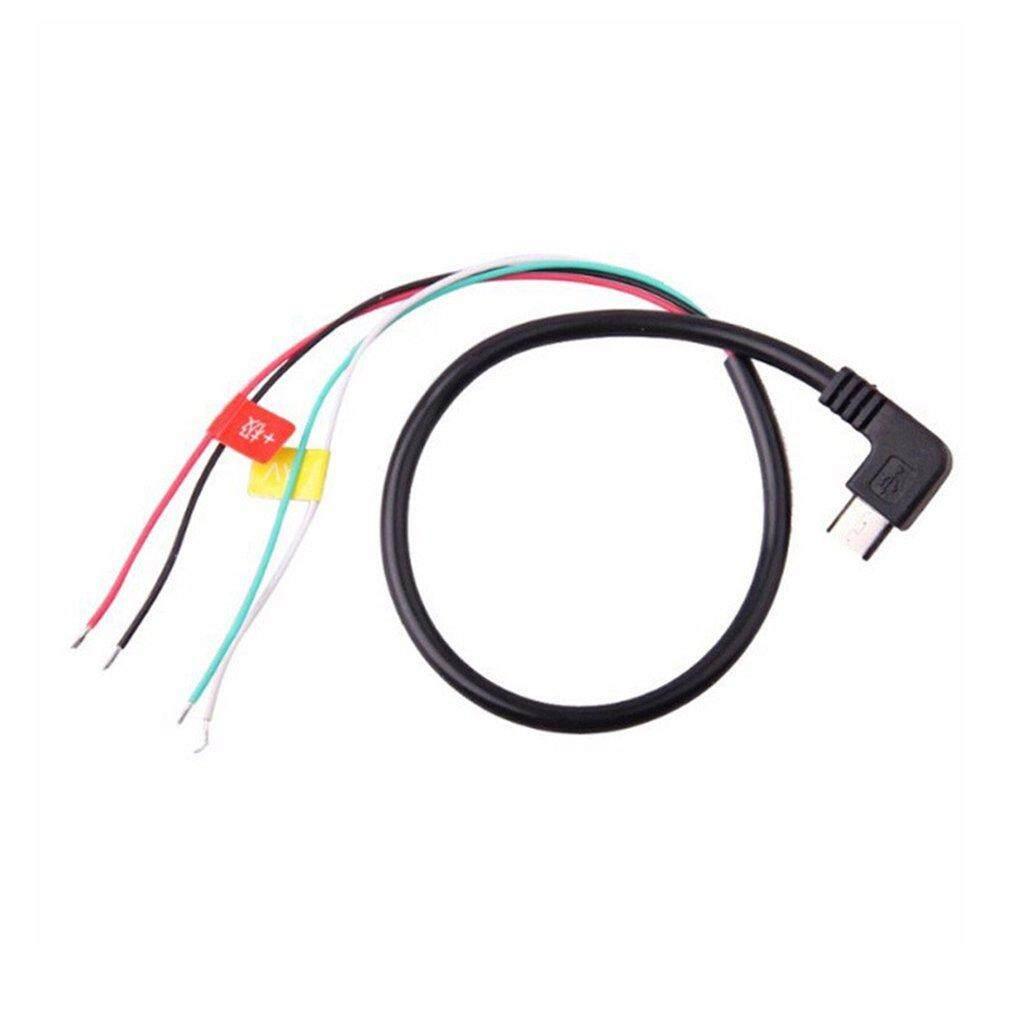 SJCAM Original Accessories Micro USB to AV FPV Output Cable for SJ4000 Camera Black