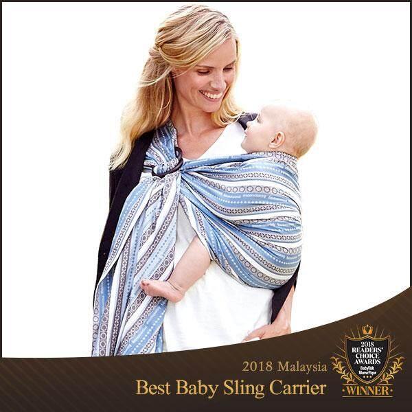 Mamaway Bohemian Print Baby Ring Sling Carrier Wrap