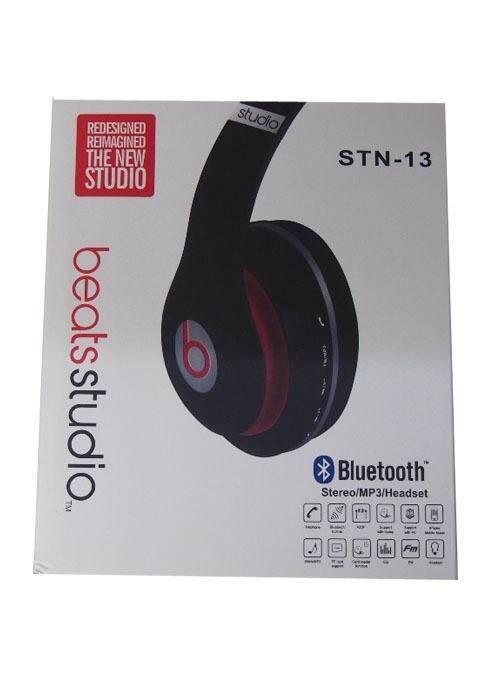 Bluetooth Stereo MP3 Headset Glitter Black
