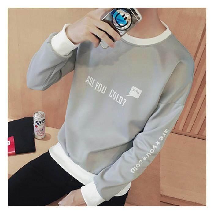(Pre Order ETA End Feb 2021 CNY Break)(Pre Order ETA 14/2) JYS Fashion Korean Ulzzang Style Men Sweater Collection-233-T01 (Grey)
